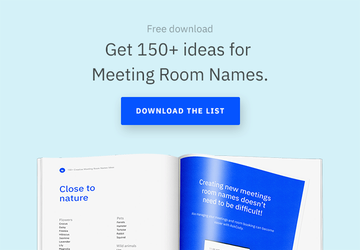 Creative Conference Room Names for Your New Office Space