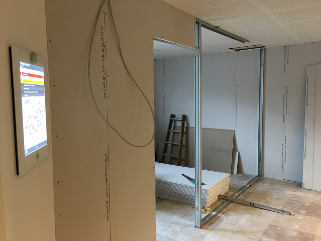 New showroom in the making...