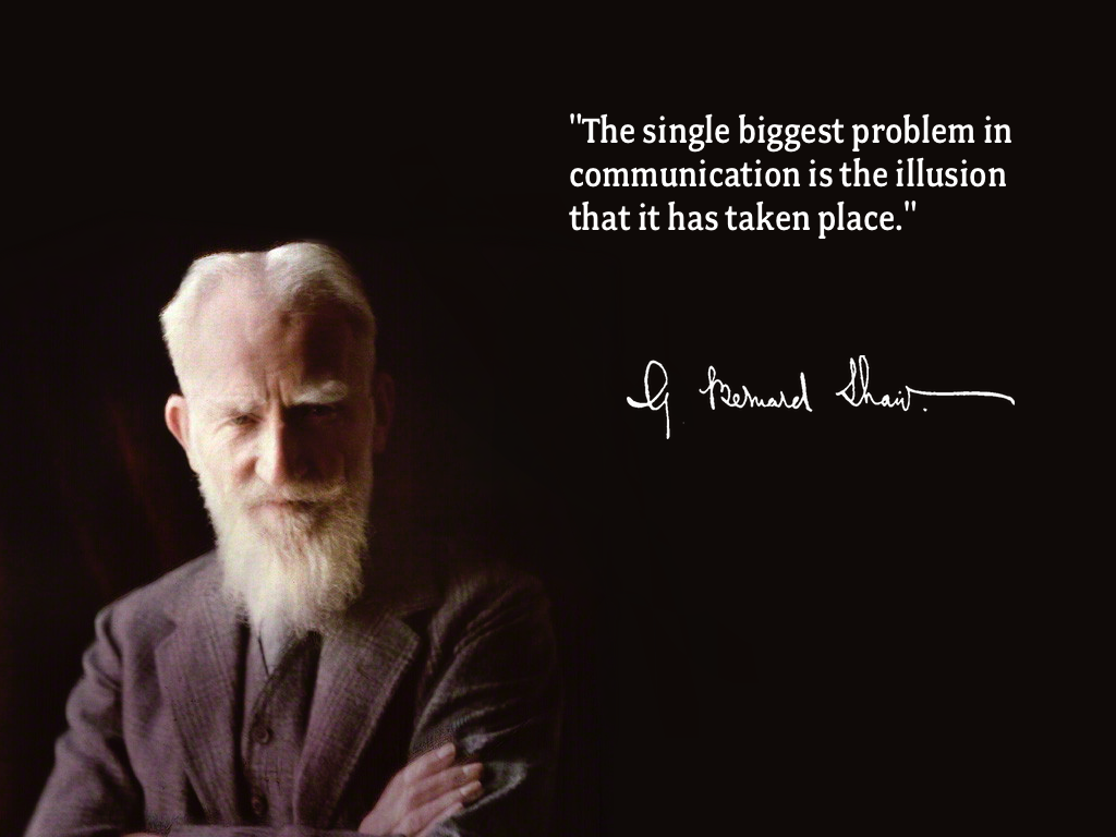 george bernard shaw quotation