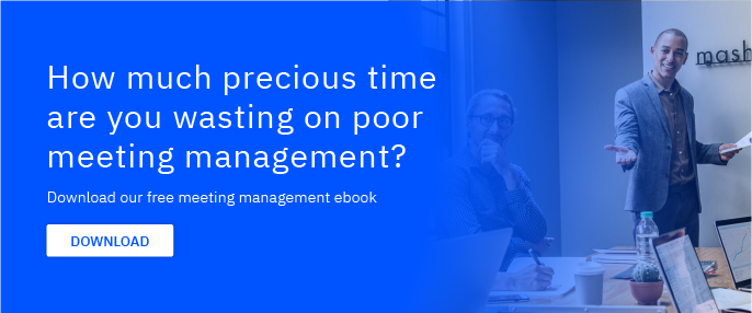 time wasted on poor meeting management