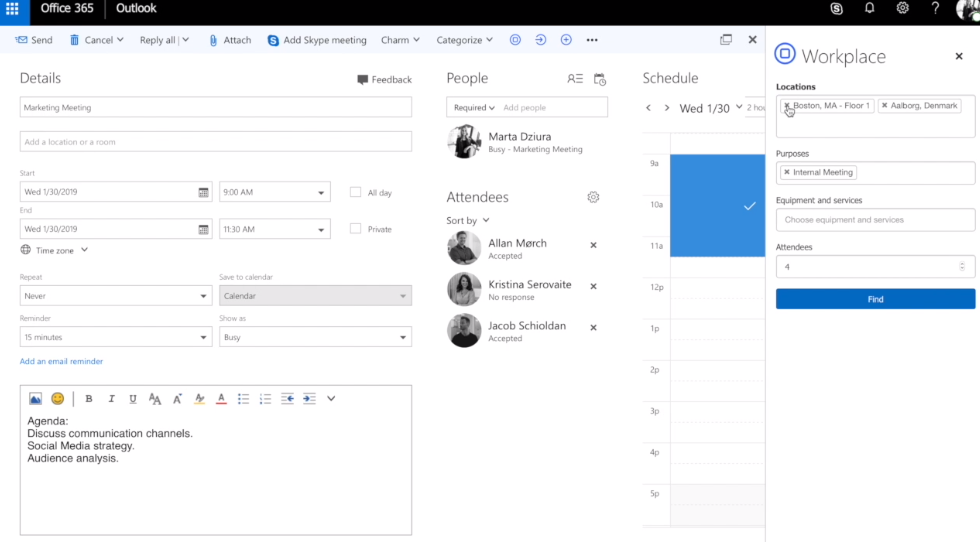 Use Meeting Management Software for Better Meeting Space Utilization